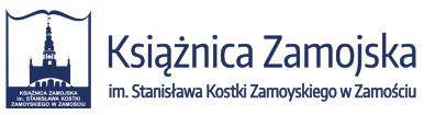 Książnica Zamojska im. Stanisława Kostki Zamoyskiego w Zamościu Logo