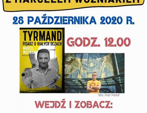 Spotkanie ONLINE z Marcelem Woźniakiem 28 października 2020 r. godz. 12.00