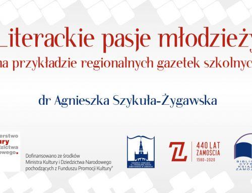 """""""Regionalne kolekcje tematyczne w Bibliotece Cyfrowej Książnicy Zamojskiej"""""""