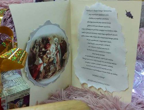 """""""ŚWIĄTECZNA POCZTÓWKA"""" – konkurs na najpiękniejsze i najbardziej oryginalne życzenia świąteczne – ROZSTRZYGNIĘTY!"""