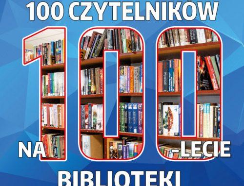 100 Czytelników na 100-lecie Biblioteki