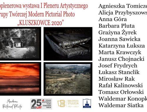 """Wystawa fotografii I Pleneru Artystycznego """"Kluszkowce 2020"""""""
