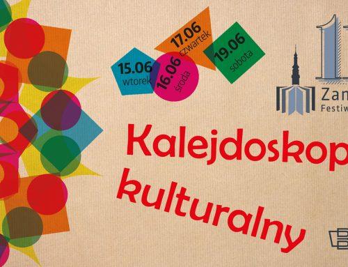 Zaproszenie na 11 Zamojski Festiwal Książki