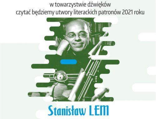 Zapraszamy w piątkowe popołudnie na literacką ucztę z twórczością Stanisława Lema