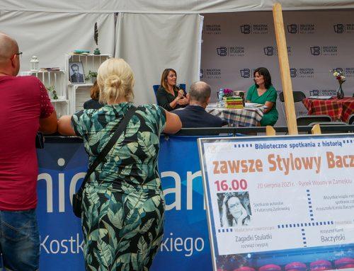 Biblioteczne spotkania z historią ph. zawsze Stylowy Baczyński – spotkanie autorskie z Katarzyną Zyskowską