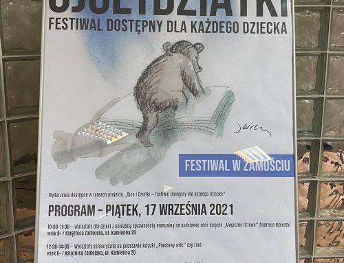 """Międzypokoleniowy Festiwal """"Ojce i Dziatki"""" – warsztaty sensoryczne dla dzieci"""