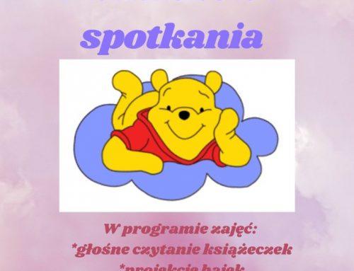 """""""Puchatkowe spotkania"""" w Bibliotece dla Dzieci i Młodzieży"""